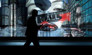 Bitcoin Trader an der Wall Street